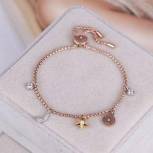 Michael Kors Moon Star Disc Adjustable Bracelet
